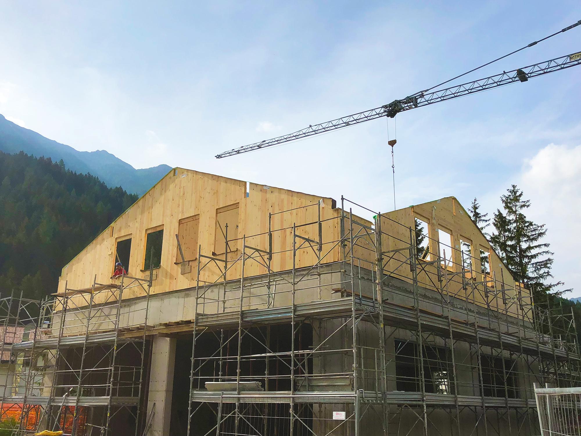 casa pollam I 5 vantaggi di una sopraelevazione in legno case in legno italia val di fiemme 2